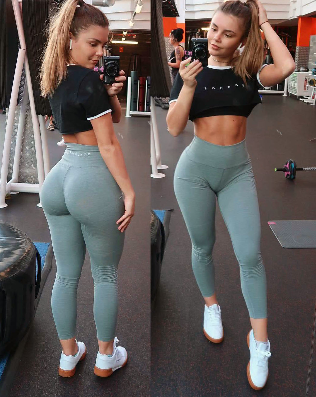 女子利用大学空闲时间健身,前后发生变化很大,其体重却被质疑!