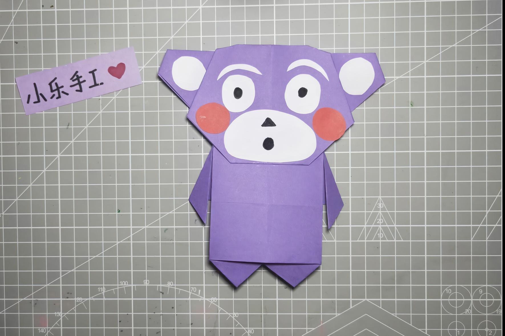 小乐创意手工diy,熊本熊的手工教程