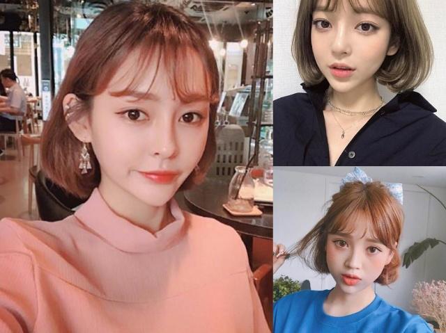 2019年最流行圆脸短发发型,首选这4款,换上显脸小更美