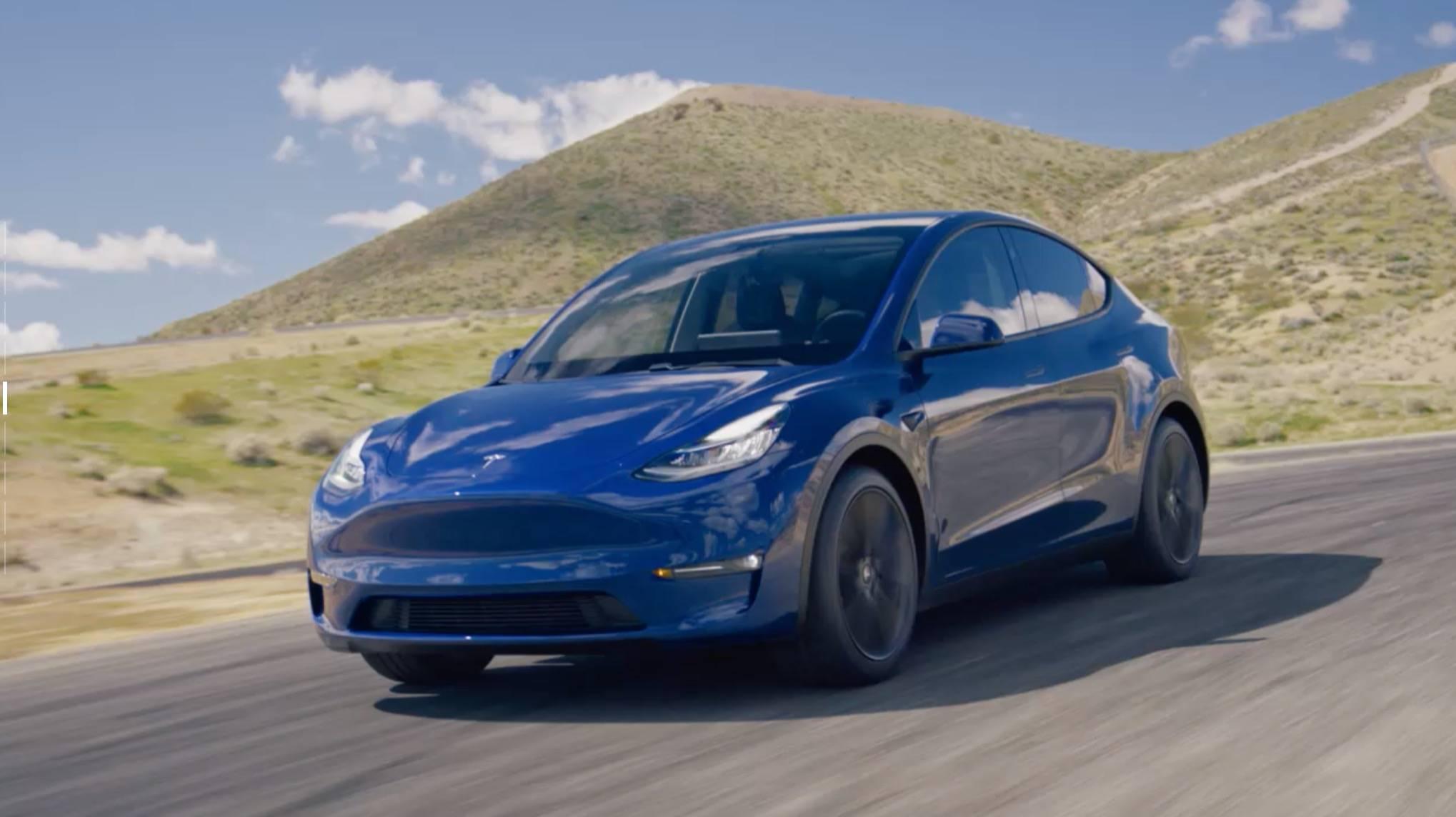 特斯拉 Model Y 发布,3.9 万美元起,明年交付