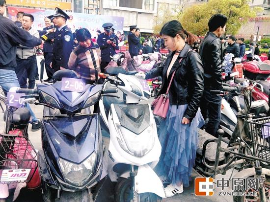 郑州严打盗窃电动车违法犯罪 3个月追回被盗电动车1339辆
