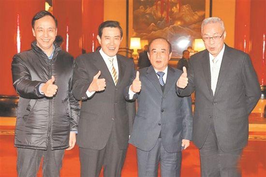 """吴敦义将""""特邀""""韩国瑜参选2020 朱马王表态"""