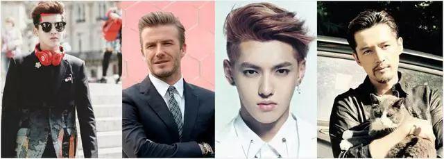 男生要根据发际线选发型,这样又帅又合适!图片