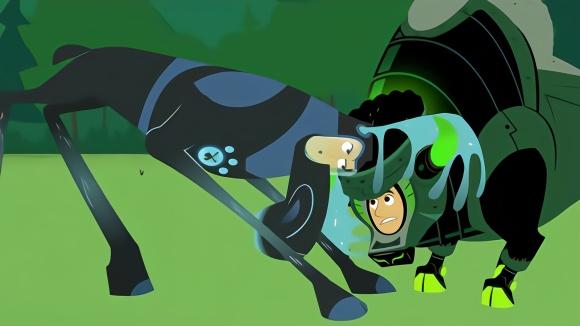 动物兄弟:动物兄弟变成牛和鹿,比两角的差距,鹿角掉了下来