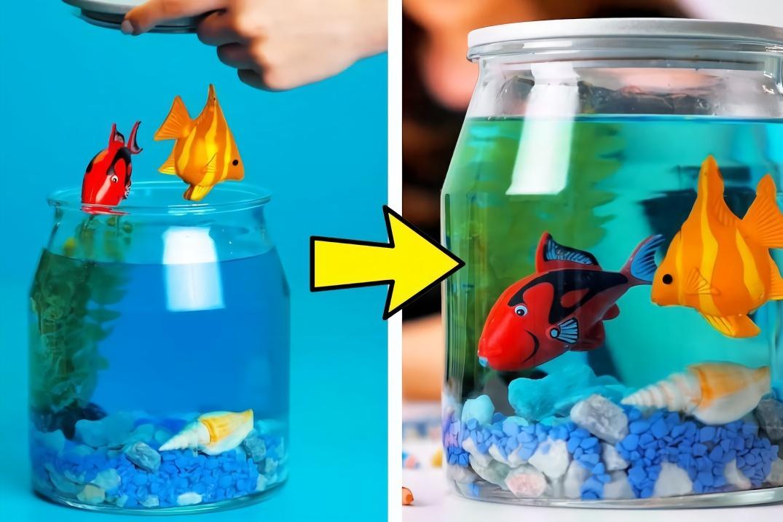 瓶瓶罐罐不要扔,教你做漂亮的海洋瓶,以及多个创意手工diy