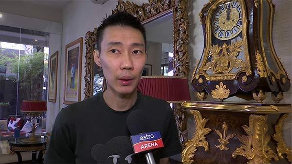 """李宗伟承认未在国家队训练,""""不想打扰其他球员"""""""