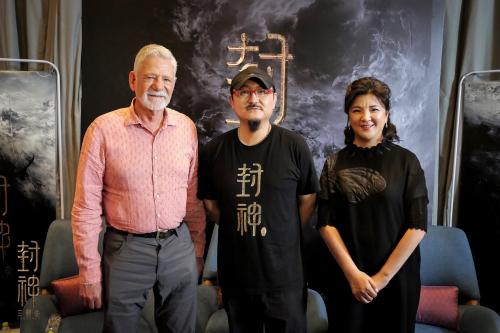 <b>《封神三部曲》首次媒体探班 获赞中国电影工业化新标杆</b>