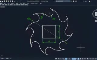 cad练习入门边界修剪讲解题目这道题练习一道设计的修剪ui什么都软件图片