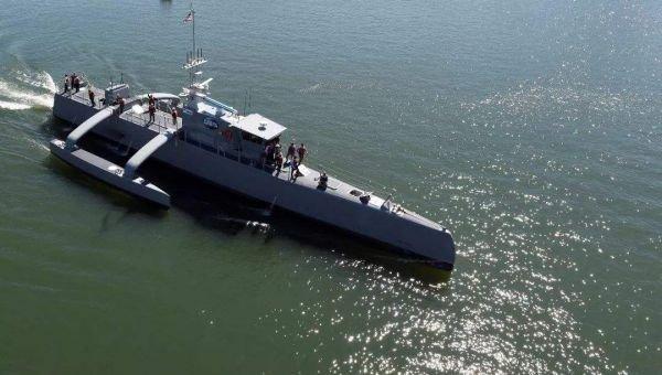 美媒称无人舰艇令海上冲突危险大增