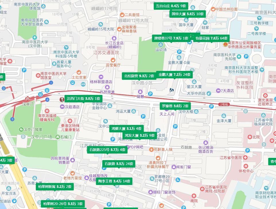 不敢相信!一街之隔,南京这两家楼盘房价竟差6万-㎡