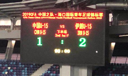 国少亚预练兵:4战东南亚不败,输伊朗二队+朝鲜