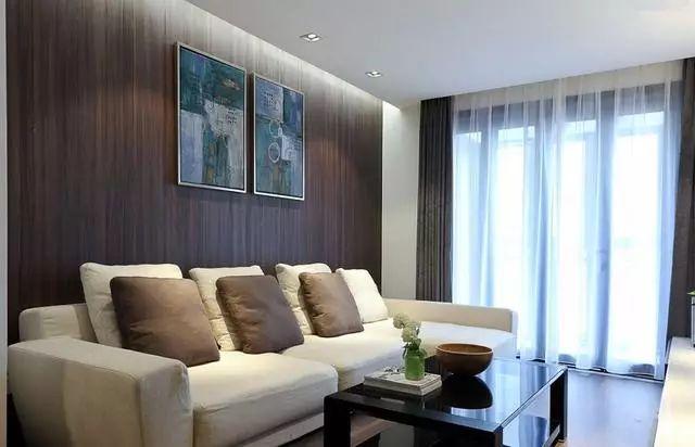 116平现代风复式新房,全房通铺木地板,木地板上墙你们见过吗?