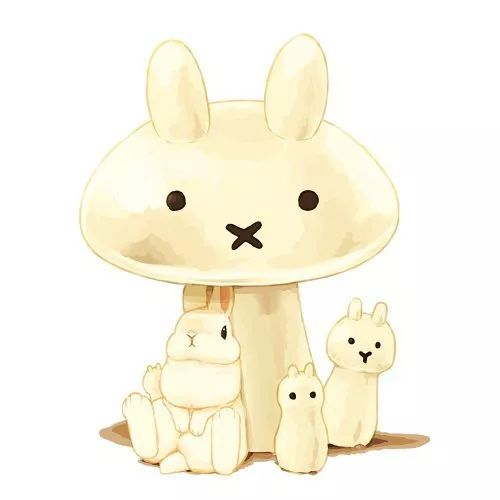 日本画师らいらっく笔下的小动物们,实在是过分可爱了!