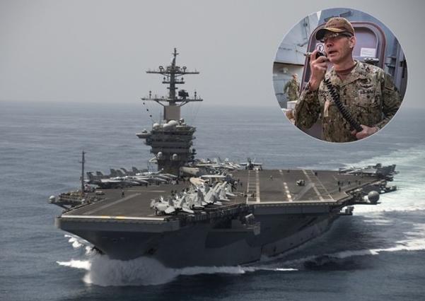 美第五舰队司令竟然忽然殒命? 美军急遽表明:是自尽