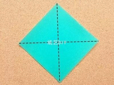 爱跳高的小蚱蜢折纸教程--就大家小时候玩的小蚂蚱哟!