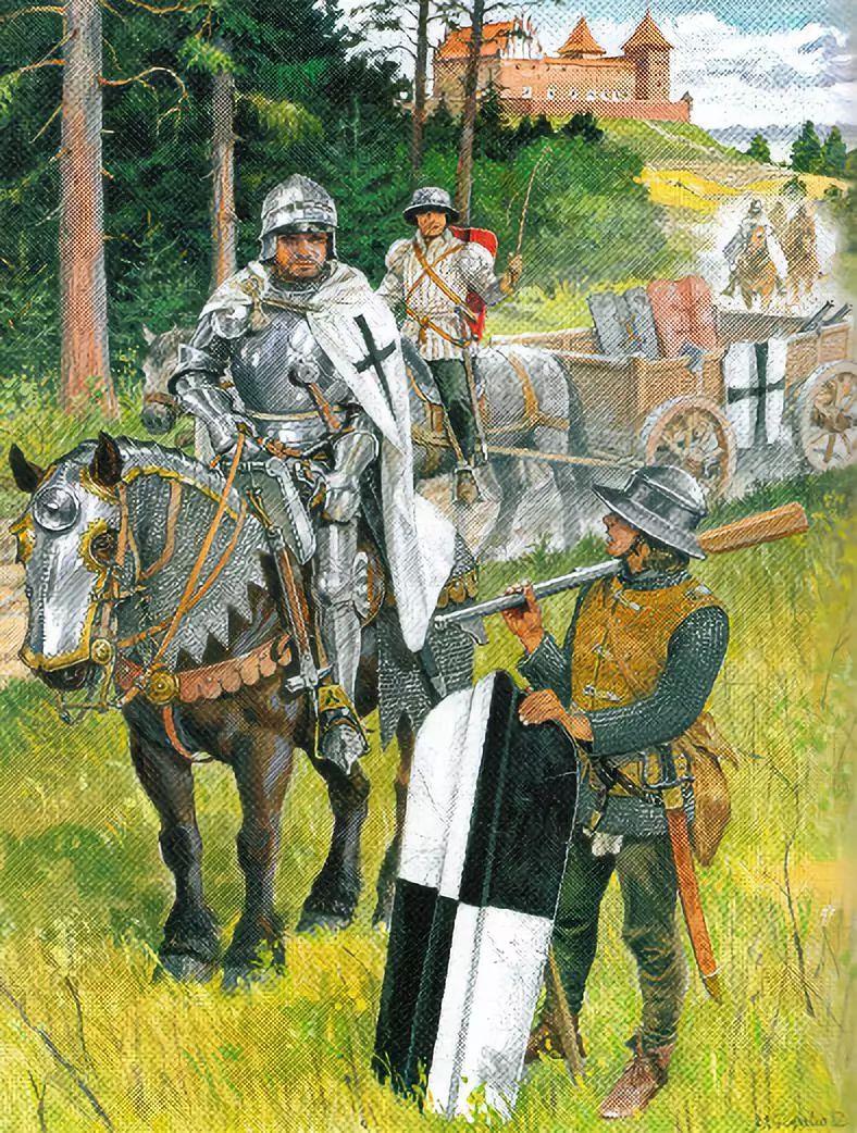 ▲条顿骑士团
