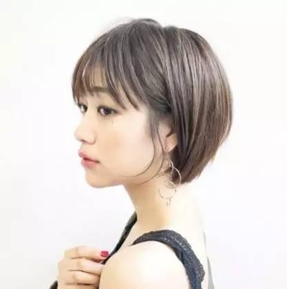 2019年清纯减龄短发就从乔妹这图片