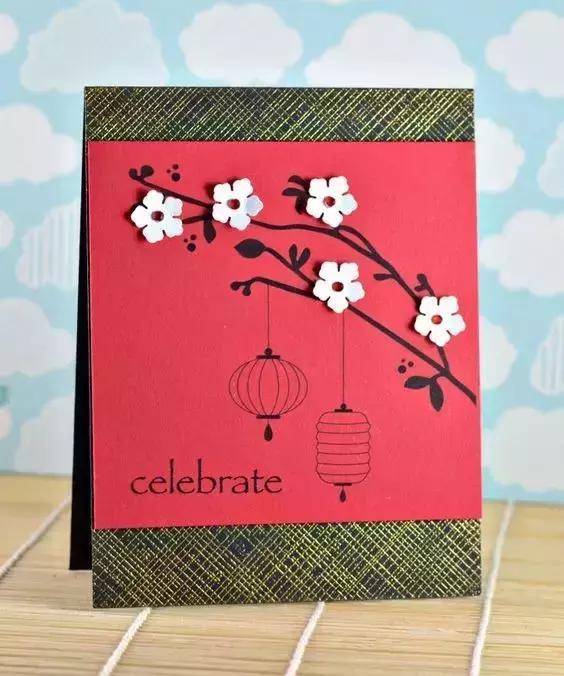 小小传承人:幼儿园新年卡片/心愿卡制作教程,要存着一定用得上