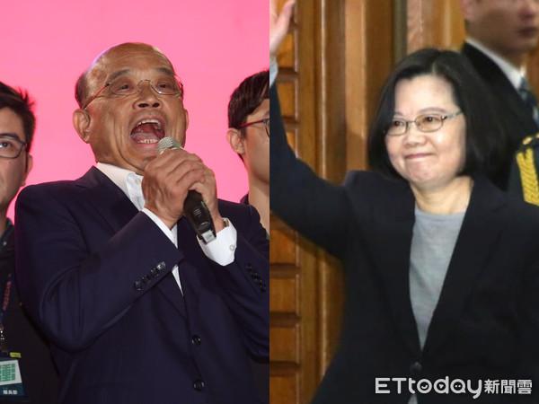 """陈水扁爆""""苏蔡配""""不合:苏贞昌曾两度找我换掉蔡英文"""
