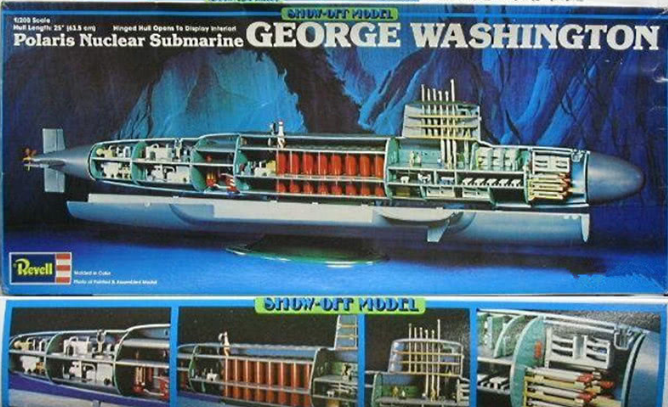 价值3美元的玩具让中国造出核潜艇 附带天价图纸