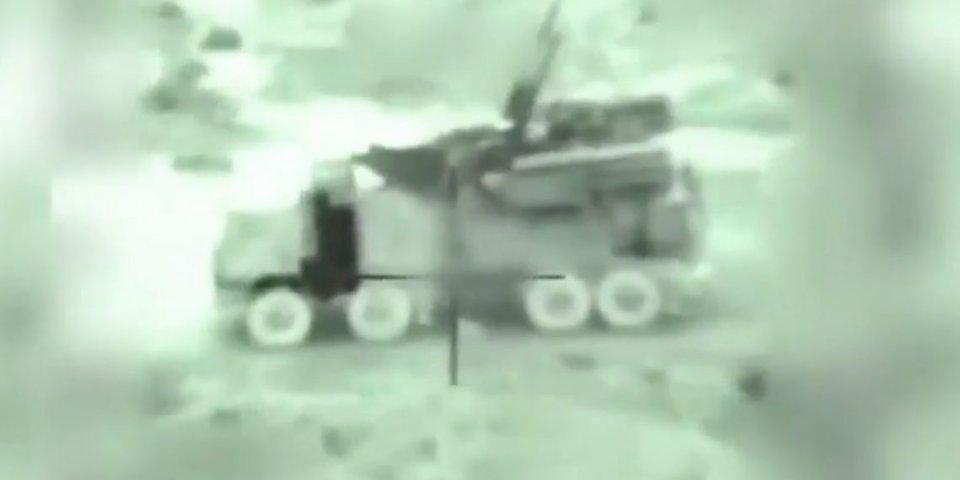 以色列空军21日摧毁叙利亚数个铠甲-S1防空系统