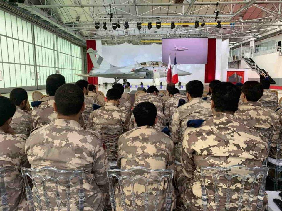 法国向卡塔尔交付首架阵风战斗机 共采购36架