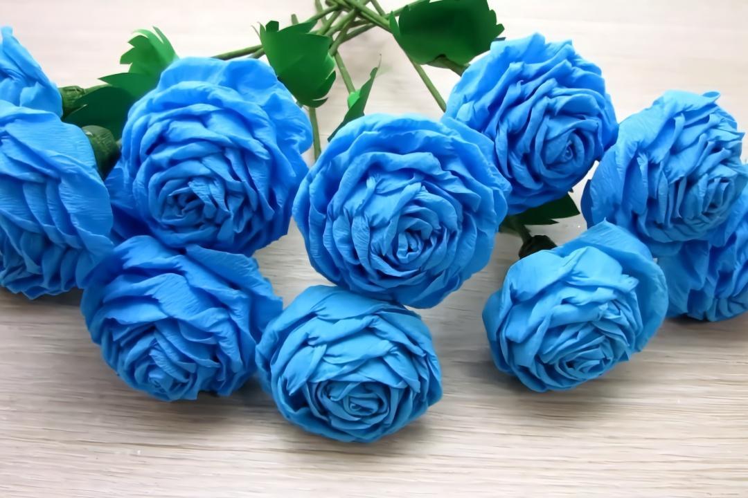 教你用一张纸制作漂亮的玫瑰花,做法简单有创意,手工diy图片