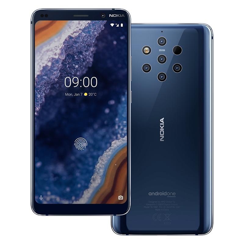 5 款诺基亚新机亮相了,其中包括那款 5 颗摄像头的 Nokia(诺基亚) 9 PureView