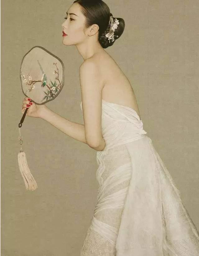 比刘雯美,比倪妮会拍照,她才是中国最高级的女人