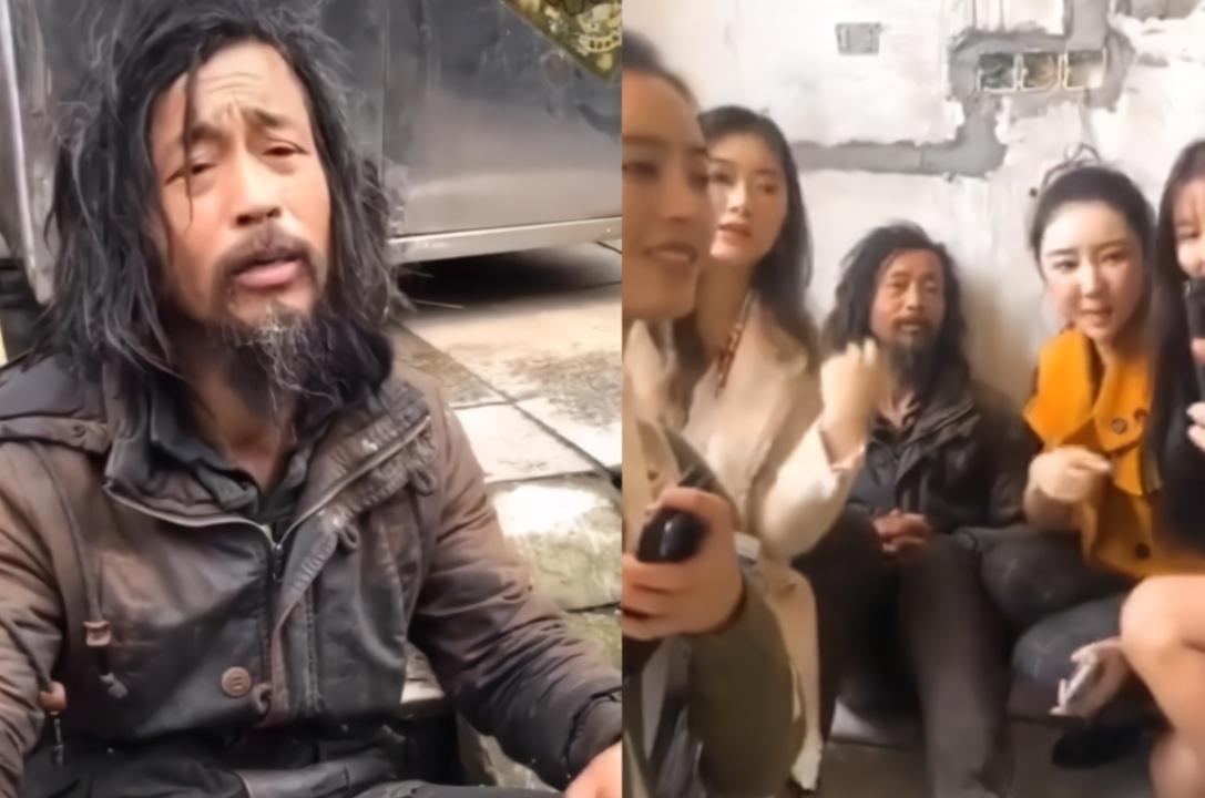 上海流浪汉频出金句走红 系徐汇审计局休病假员工