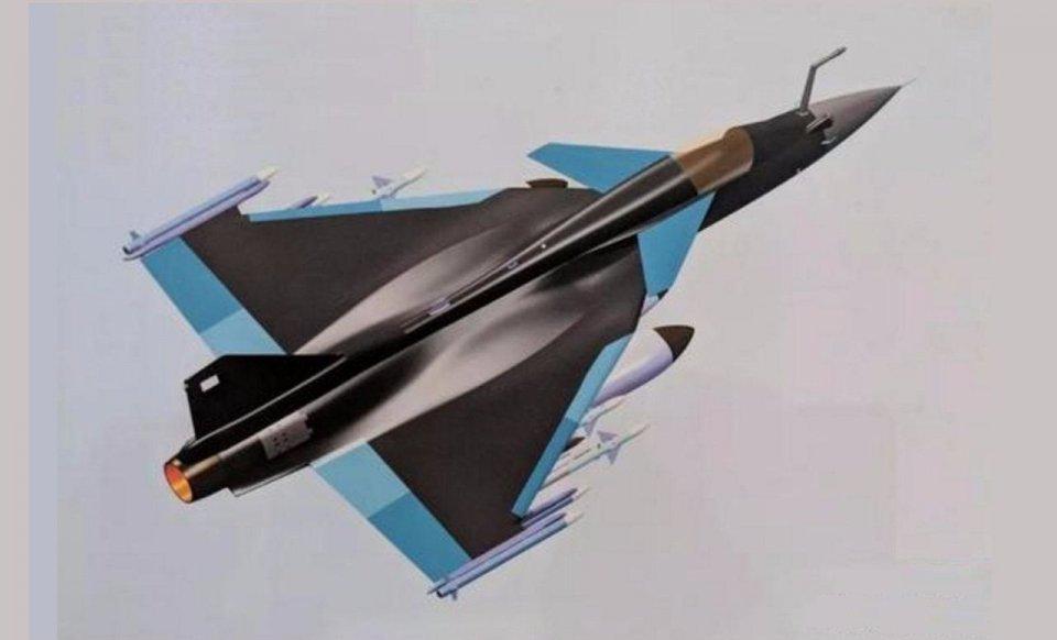"""印度光辉战机脱胎换骨:摇身变成了小号""""歼-10"""""""