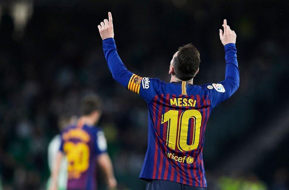 梅西替补进球 斩获队史第26个西甲冠军