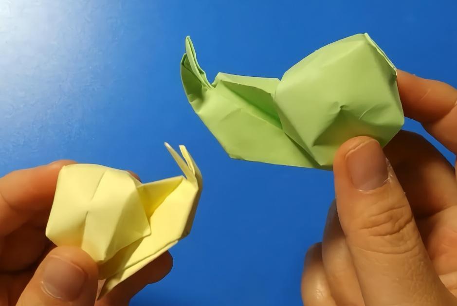 手工折纸教程:有一个折出漂亮桃心的方法,简单易学!