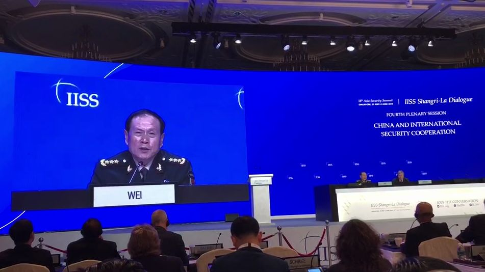國防部長霸氣宣示:若不能維護統一 還要解放軍