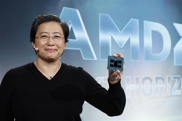 5年间AMD股价上升800%!苏姿丰入选全球最佳CE
