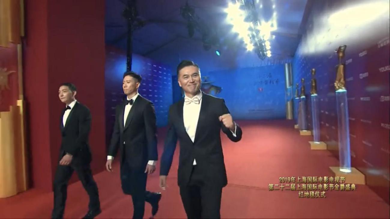 淳于珊珊亮相上海國際電影節 多部新作引期待