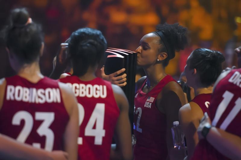 美国女排世界排球联赛总决赛夺冠