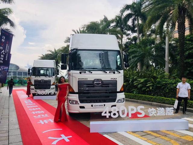 广汽日野480PS发动机车型火热上市,高端市场风云再起
