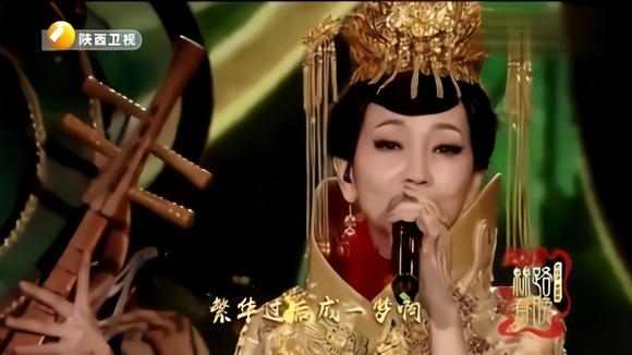 不老女神赵雅芝现场演唱《问情》老公在台下聆听白娘子献唱