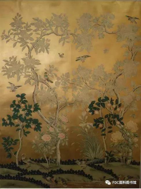 这些古董手绘壁纸——堪比珍贵的艺术品