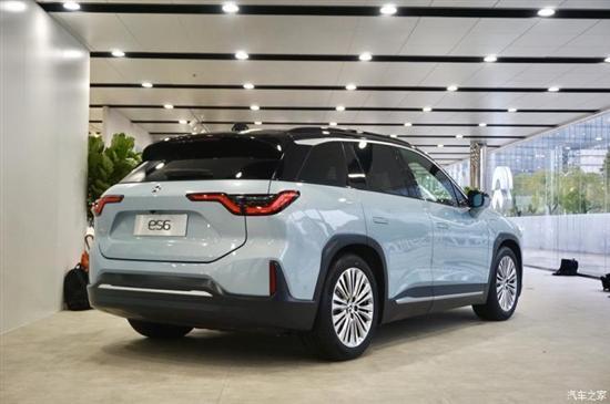 当未来汽车走进现实世界 实拍蔚来es6