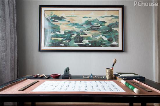 亦缔造府的风雅世界 书房书柜设计集储物展示一体 甄选精美的装饰艺术