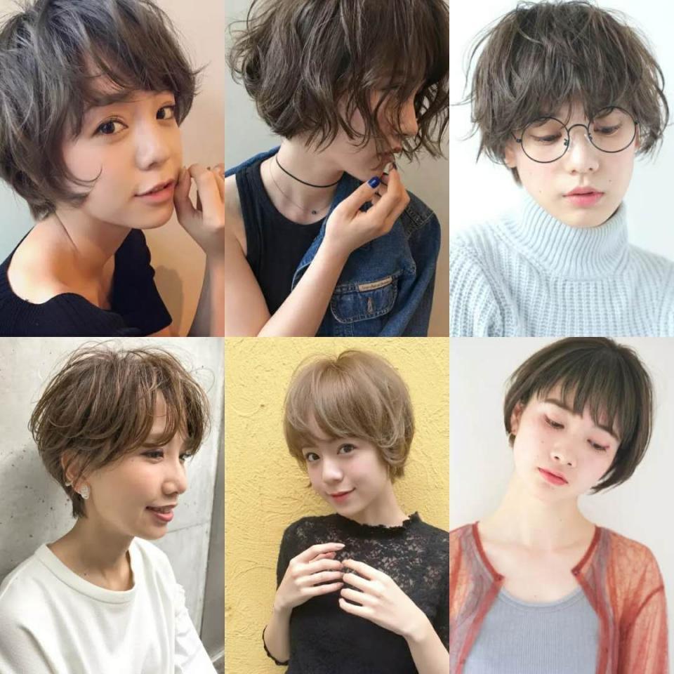 短发烫发的样式很多,年轻人尽量烫的自然一些,中年烫的有型一些,老年烫的蓬松饱满一些,具体的样式要结合你的脸型和气质了。发型和衣服不同,每个人的发型都不可能一样,衣服的每个型号都可以批量生产,所以发型一定要到现场,根据具体的条件,才能给出最精准的答案,做出更符合你气质的发型。