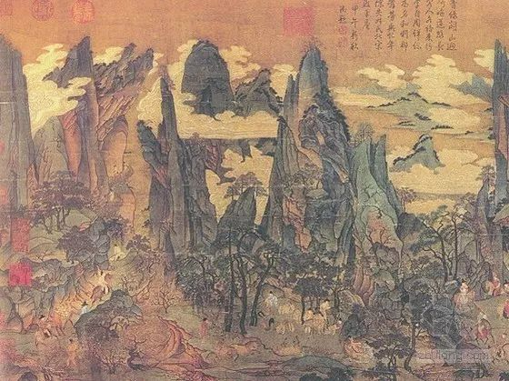 公元618年,隋唐国公李渊于长安称帝建唐。