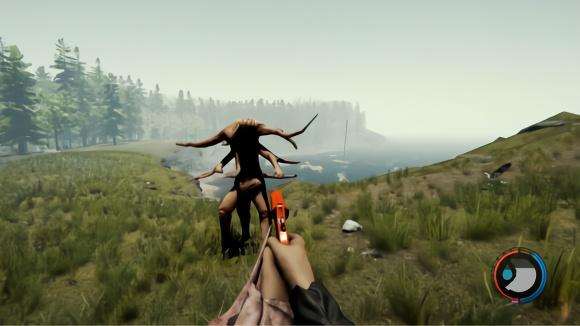 迷失森林18:我用信号枪对付多手怪物,没想到威力还挺大