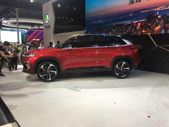 2019深港澳车展:斯柯达Vision GT亮相