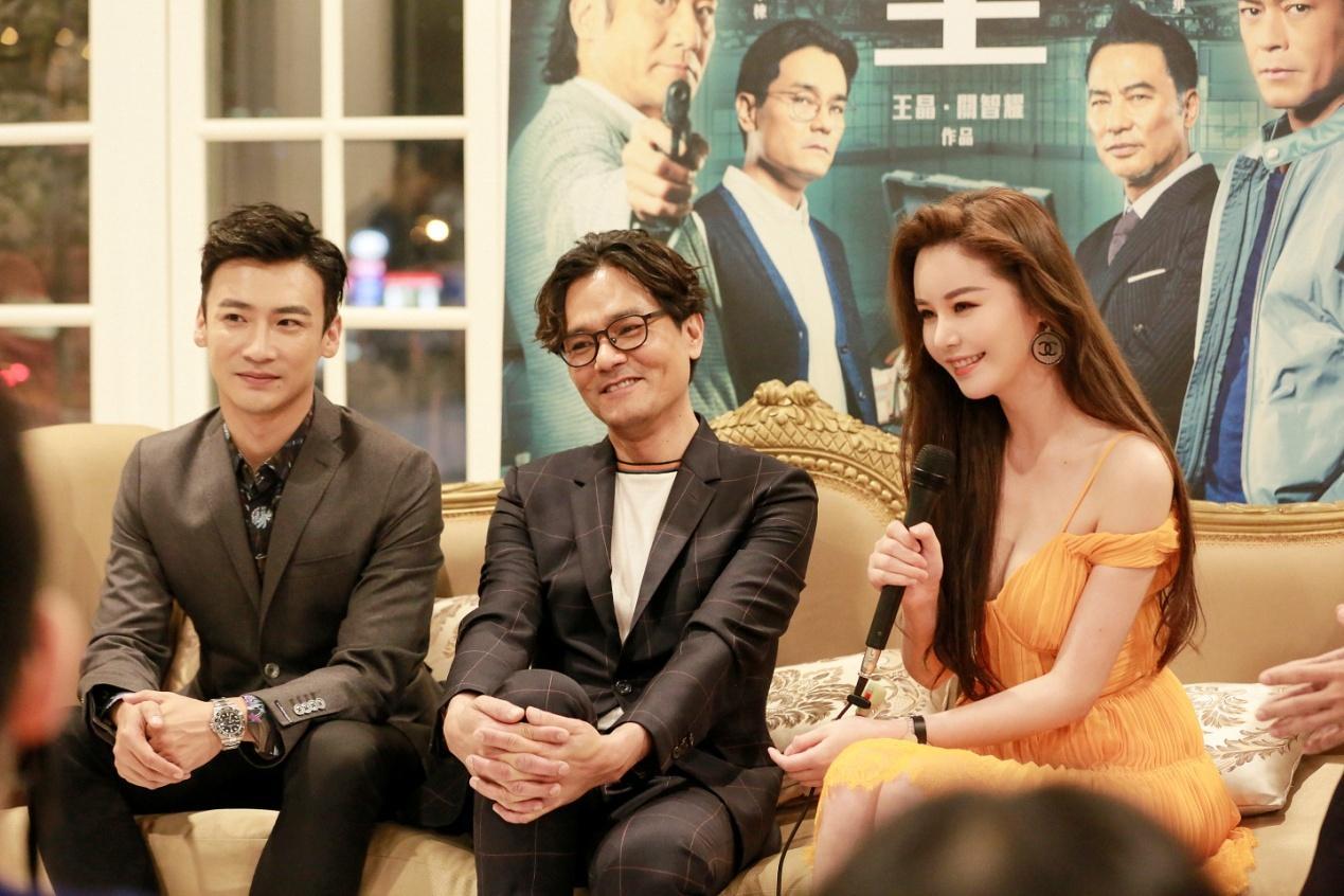 《追龙2》香港首映礼,女主邱意浓神颜被称行走的雕塑李若彤年轻电视剧图片