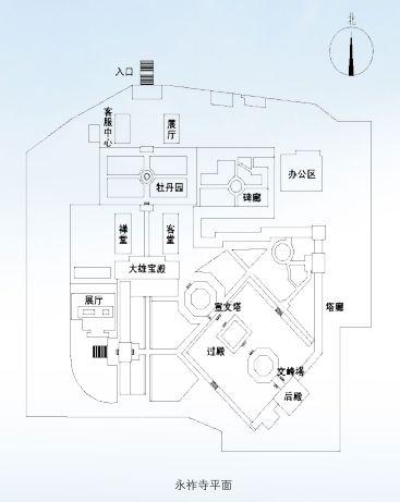 寺院建筑是中国古代建筑中最重要的门类之一,院落空间布局,在不同图片