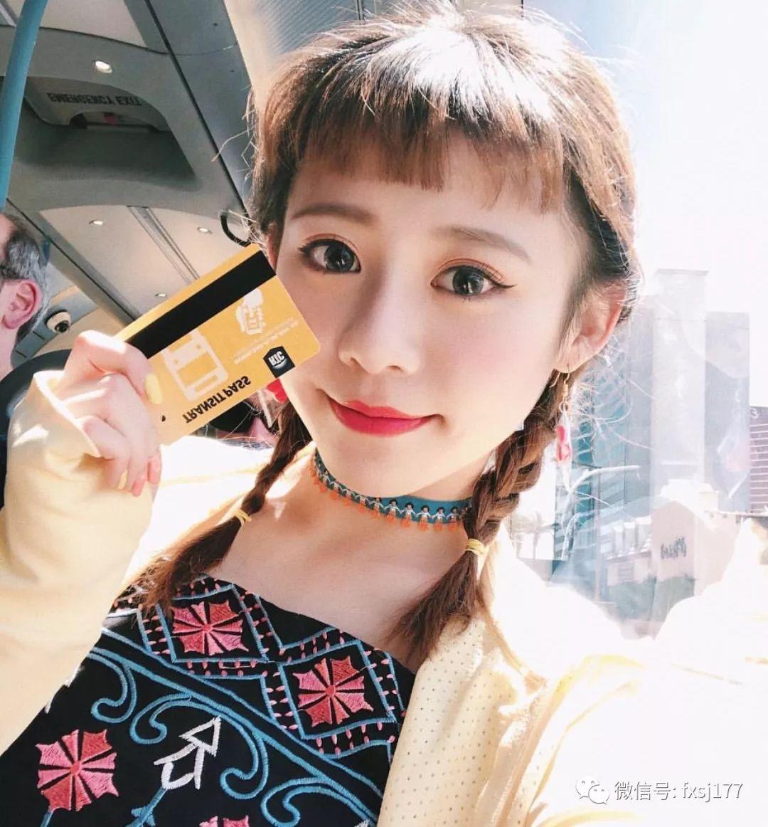 二次元少女刘海发型