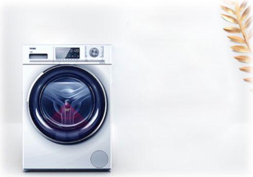 海尔紫水晶滚筒洗衣机 usp不间断速洗技术,实现内筒不间歇正反转,15分